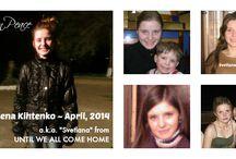 In Memory of Lena Kihtenko (aka Svetlana)