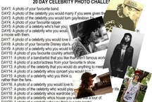 20 day celebrity challenge / by Julie Rebecca