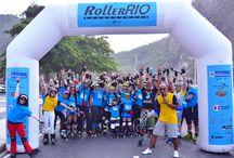 Evento Roller Rio / Maior evento de patinação do Brasil !  Encontro de todas as vertentes , encontro de grupos, uma grande festa!