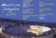 Centennial Festival 2013 / From 14th June to 8th September, 58 performances for 6 titles and 3 Gala nights welcome you at the Arena di Verona for the 91st edition of the Opera Festival. For info and reservations please call our call center 0039 045 8005151 or buy directly on line www.arena.it #arenadiverona100