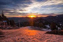 Photos at Solitude Mountain Resort in Salt Lake City, Utah.