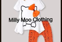 Milly Moo Girls Clothes