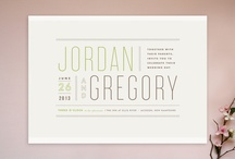 Art & Design  / Design ideas for invites and other printed materials needed for weddings!