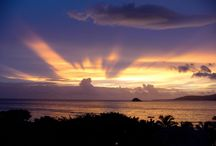 Island Sunsets / Sunsets captured from the beautiful St. Kitts
