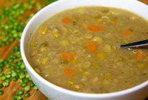Split Pea and Sweet Potato Soup
