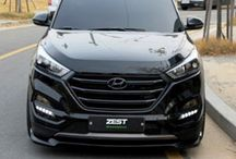 ZEST- AERO PARTS FULL BODY KIT FOR HYUNDAI ALL-NEW TUCSON TL 2015-2016 MNR- at discount rate