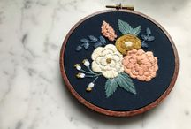 Embroidery arts