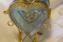 Heart to Heart / The heart shape of love / by Teresa Christolear