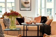 Interior: Living room - Varm tones