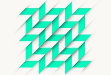 Graphic Prints / Bold geometric prints and patterns for branding, home decor, apparel, fashion, graphic design.