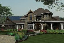 Two Story House Plans / by DFD House Plans