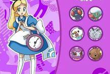 Alice in W: Manga & Anime / Alice in wonderland