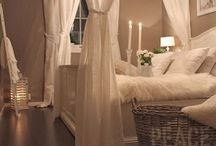 Master Bedroom Ideas / Overall look inspiration  / by Erica Lawless