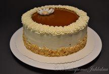 Traditional cream cakes