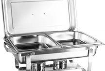 Réchaud Aço Inox / Torne seu buffet sinônimo de requinte, eficiência e qualidade! Encontre aqui diversos modelos de Réchauds fabricados em aço inóx. Confira: