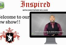 "Inspired with Christopher Williams / ""Inspired with Christopher Williams"" is an educational, informative and empowering show to help you achieve your business and personal goals. The show is brought to you by Christopher Williams of Williams Enterprises, Inc. (www.1williamsenterprises.com)."