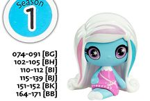 Monster High Minis Season 1 Wave 1