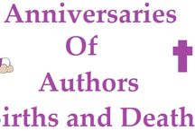 Anniversaries / The anniversaries of authors births and deaths.
