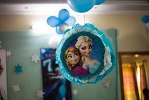 Frozen Birthday Party / Frozen birthday theme based party organized in Lahore