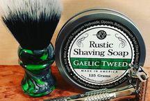 razor and lather