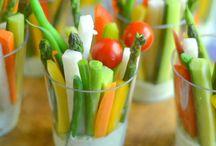 Appetizers / Légumes et son dip