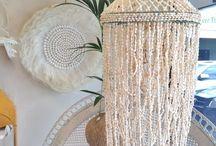 Декор из ракушек / Какие вещицы можно сделать из ракушек, кораллов и цветных стёклышек, собранных на берегу моря? Design of interior from the sea and oceans!