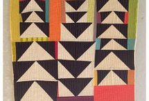 Quilts - Improv Flying Geese