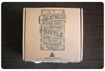 """Hustle & Grind / About: """"A monthly box of coffee, hustler swag, epic gear and more."""" For full subscription box reviews, visit http://musthaveboxes.com."""