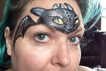 Maquillage Dragon / Maquillage Timéo