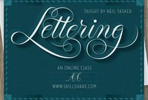 Learn how to letter