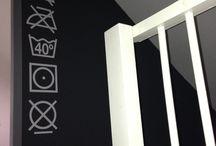 Zolder / Beschrijving muur