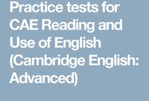 CAE Reading Tests