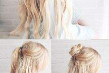 Hairstyles, makeup tips