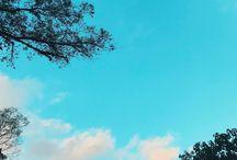 Erick Mafra O céu anda tão lindo no outono... O sol toca a pele fazendo um carinho e logo um vento gelado nos abraça... <3