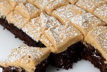 sweet stuff - brownies and bars.