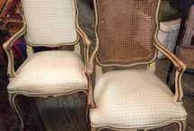 Chairs, Sofas, Settees, & Chaise Lounges / We LOVE chairs.  Sofas and Settees too!!!  Chaise Lounges aren't bad either.  We always have a plethora of these items, in all styles, from a myriad of countries and with incredible design flair.