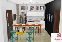 Consultoria da leitora: Decoração e projeto 3D da churrasqueira e lavanderia!