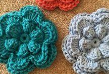 Flores Crochet - Tricot