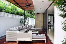 Interiors + exterior