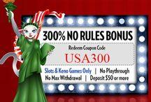 July 2014 Casino Bonuses
