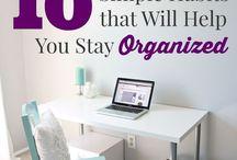Home organisation tips