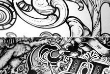 Tipografia, caligrafia