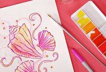 Crafty / Crafts - sorority, gifts, and other fun crafts.  / by Tiffany Leiva
