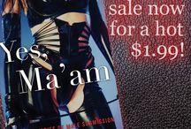 Erotica on sale / My erotica anthologies on sale.