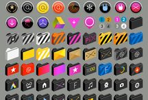 Moccu-Rüya-Icons for MacOsX / Moccu Rüya Icons are made for desktop pleasures.