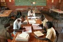 Children learning around the world