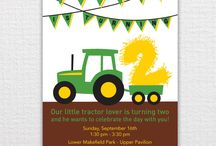 Macon's 2nd Birthday Ideas / by Terri O'Barr