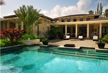 garden\pools\houses