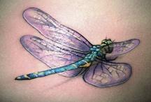 Libellen Tattoo-design