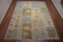 Turkish Anatolian Oushak New Handmade Carpet ( Rug )